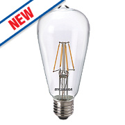 Sylvania ST64 LED Lamp Clear ES 4W