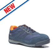 Scruffs Halo Safety Trainers Navy Size 10