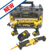 DeWalt DCK310C2T-GB 10.8V 1.3Ah Li-Ion Cordless Triple Pack XR