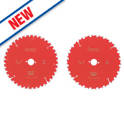 Freud Pro TCT Circular Saw Blades Twin Pack 250mm x 30mm Bore
