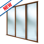 Spacepro 3 Door Framed Sliding Wardrobe Mirror Doors 1780 x 2260mm