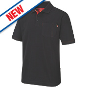 "Lee Cooper Polo Shirt Black Large "" Chest"