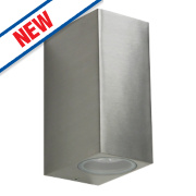 Ranex Stainless Steel Up Down LED Wall Light 3W