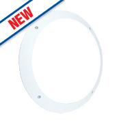 Saxby Seran LED Bulkhead Matt White 12W