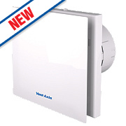 Vent-Axia VASF100T 4.3 / 6.8W Silent Axial Bathroom Timer Extractor Fan