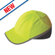 Portwest Hi-Vis Bump Cap Yellow