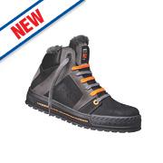 Timberland Pro Shelton Trainer Boots Black / Grey Size 8