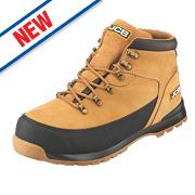 JCB 3CX/H Safety Hiker Boots Honey Size 9