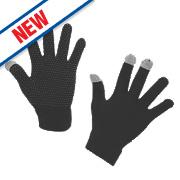 Kerbl Touch Screen Gloves Blue