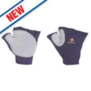 Impacto 502-10 Anti-Impact Glove Blue & Grey Large
