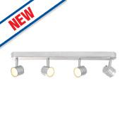 Inlight Warwick 4-Light LED Spotlight Silver 1120Lm 4W