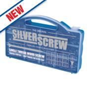 Silverscrew Woodscews Handy Pack 600 Pieces