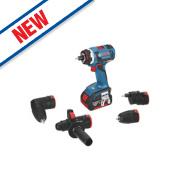 Bosch GSR 18 FC2KIT 18V 4.0Ah Li-Ion Cordless Drill Driver