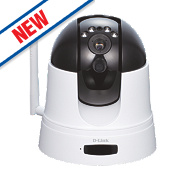 D-Link DCS-5222L/B HD Pan / Tilt / Zoom Indoor Cloud Camera
