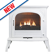 Focal Point Dalvik White Gas Flueless Stove