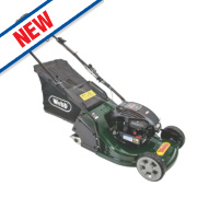 Webb WERR17 43cm hp 140cc Self-Propelled Rotary 3-in-1 Petrol Lawn Mower