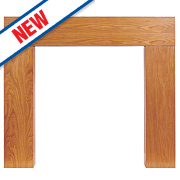 Focal Point Wichita Fire Surround Oak Veneer