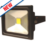 LAP Slimline LED Floodlight 20W Black