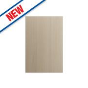 Matt Oak Shaker Kitchen End Support Panel 600 x 18 x 900mm