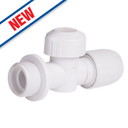 Hep2O Push-Fit Hot & Cold Appliance Valve 15mm x ¾