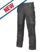 "UPower Race Trousers Carbon Black 32-34"" W 31"" L"
