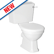 Dartmouth Close Coupled Toilet Dual Flush 4/6Ltr