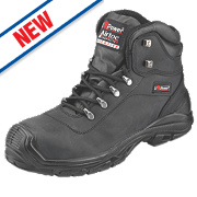 UPower Terranova Safety Boots Black Size 7