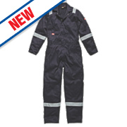 """Dickies WD2279 Zip Front Coverall Navy Medium 40-42"""" Chest """" L"""