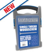 Silverscrew Woodscrews Grab Pack 1000 Pieces