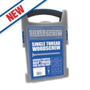 Silverscrew Woodscrews Grab Pack 1000 Pieces
