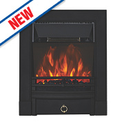 Focal Point Soho Black Switch Control Electric Freestanding Fire