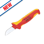 """Knipex VDE Insulated Cable Knife 1000V 7"""""""