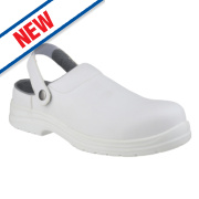 Amblers FS512 Sandal Safety Shoes White Size 4