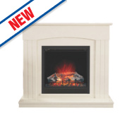Be Modern Linmere Electric Fire Almond Stone