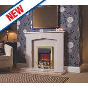 Be Modern Melrose Fire Surround Micro Marble