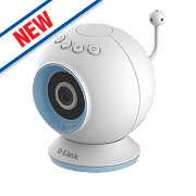 D-Link DCS-825L/B Eye-On Indoor Wi-Fi IP Baby Camera