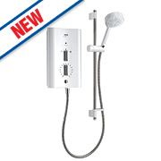 Mira Escape Plus Thermostatic Electric Shower White 9.8kW