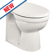 Ideal Standard Alto Back-to-Wall Pan & Soft-Close Seat Boxed Rim Flush