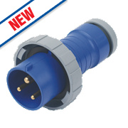 ABB Straight Plug 32A 2P+E 250V 6H IP67