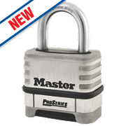 Master Lock Pro Series Stainless Steel Combination Padlock 57mm