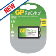 GP Batteries ReCyko+ Rechargeable Battery 9V