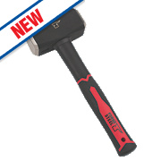 Forge Steel Fibreglass Handle Club Hammer 4lb