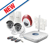 Swann Micro 4-Channel Wi-Fi HD Video & Alarm Security Kit