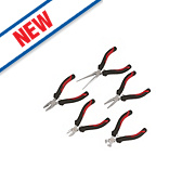 Forge Steel Mini Pliers Set 5 Pieces