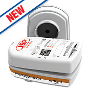 JSP Force 8 Press-to-Check Combination Cartridges A2-P3 Pack of 2