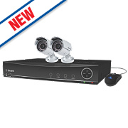 Swann SWDVK-441002A 4-Channel 960H CCTV Digital Video Recorder w/ 2 Cameras