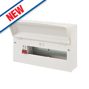 MK Sentry 16-Way Metal Consumer Unit 100A Main Switch
