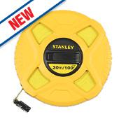 Stanley Fibreglass Tape Measure 30m
