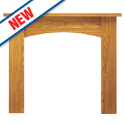 Focal Point Nebraska Fire Surround Oak Veneer
