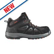 Scruffs Soar Safety Hiker Boots Black Size 9
